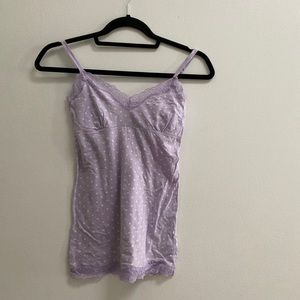 American Eagle Dotted Lace Camisole